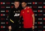"""Oficialu """"Man Utd"""" įsigijo B.Fernandesą"""