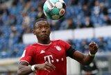 """""""Liverpool"""" tikisi pasirašyti sutartį su """"Bayern"""" gynėju"""