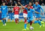 """""""Hoffenheim"""" ir """"Mainz"""" komandų akistatoje užfiksuotos lygiosios"""