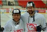 """M.Šliko sugrįžimo sulaukę """"Hockey Punks"""" ruošiasi rungtynėms su sensaciją pateikusiais varžovais"""