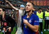 """Po triumfo Europos lygoje apie savo ateitį """"Chelsea"""" klube prabilęs E.Hazardas: """"Manau, kad tai yra atsisveikinimas"""""""