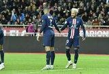 """Antrą kartą ant grėblio nelipo: PSG užtikrintai patiesė """"Monaco"""""""