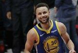 """S.Curry apie """"Lakers"""" triumfą: """"Džiaugiausi dėl LeBrono ir Daviso"""""""