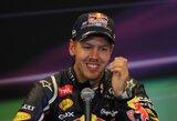 """S.Vettelis: """"Belgijos GP lenktynės parodo, kaip greitai viskas gali pasikeisti"""""""
