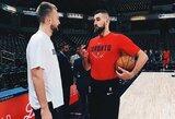 D.Sabonis ir J.Valančiūnas pateko tarp 100 geriausių NBA žaidėjų