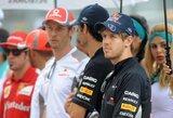 """S.Vettelis perspėja savo varžovus nenurašyti """"Red Bull"""" ekipos"""