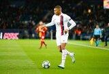 """Apie K.Mbappe kalbėti atsisakęs Z.Zidane'as: """"Privalau išlaikyti pagarbą"""""""
