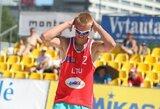 Lietuviai nesublizgėjo Rytų Europos paplūdimio tinklinio čempionate (komentarai)