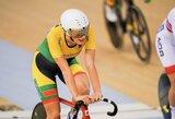 O.Baleišytė Europos dviračių treko čempionato daugiakovėje – šešta