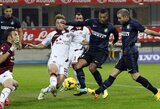 """""""Inter"""" futbolininkai šventė užtikrintą pergalę Italijoje"""