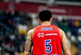 M.Jamesas palieka CSKA komandą