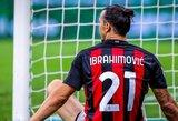"""Z.Ibrahimovičiaus pareiškimas: """"Noriu sugrąžinti """"Milan"""" klubą ten, kur jam vieta"""""""