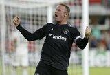 """MLS: W.Rooney dublis garantavo """"DC United"""" vietą atkrintamajame etape"""