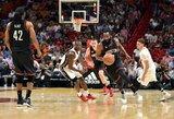 J.Hardeno rekordinį trigubą dublį nustelbė nesėkmė NBA autsaideriams