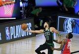 """Taškų rekordą užfiksavęs J.Tatumas vedė """"Celtics"""" į pergalę"""