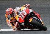 """Favoritas nestabdo: M.Marquezas iškovojo trečią """"pole"""" poziciją iš eilės"""