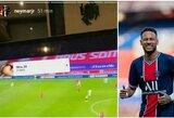 Neymaras prajuokino internautus: stebi nelegalias futbolo transliacijas?