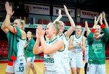 """""""Aistės-LSMU"""" pusfinalyje reikalus su Estijos klubu išsprendė per vieną kėlinį"""