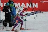 Netikslūs šūviai sutrukdė lietuvėms kovoti dėl aukštų vietų atvirajame Europos biatlono čempionate