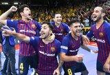 """UEFA futsalo Čempionų lygos burtai: į Lietuvą atvyksta """"Barcelona"""""""