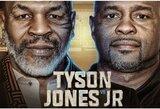 M.Tysonas ir R.Jonesas jaunesnysis susikaus dėl specialaus WBC diržo