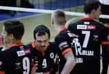 Šiaulių klubas įsitvirtino Lietuvos tinklinio čempionato lyderio pozicijoje
