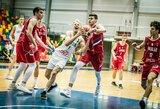 Fantastiškai ketvirtąjį kėlinuką sužaidę lietuviai įveikė serbus