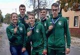 Jaunieji irkluotojai Baltijos taurės varžybose pasipuošė bronzos medaliais