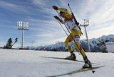 Pasaulio biatlono taurėje lietuviai užfiksavo istorinį pasiekimą