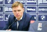 E.Jankauskas paskelbė Lietuvos rinktinės sudėtį rungtynėms su Rumunija ir Serbija