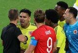 """R.Falcao kaltino teisėją iš JAV M.Geigerį: """"Gėda, kad tai vyksta pasaulio čempionato aštuntfinalyje"""""""
