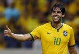 Karjerą baigęs Kaka sulaukė pagyrų iš Brazilijos legendos Pele