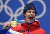 Pjongčango olimpiadoje pirmą kartą pasikeitė medalių įskaitos lyderė