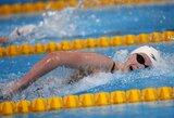 16-metė K.Ledecky Barselonoje pagerino antrą pasaulio rekordą ir iškovojo aukso medalį
