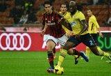 """""""Milan"""" toliau praranda taškus, """"Napoli"""" ir """"Juventus"""" šventė pergales"""