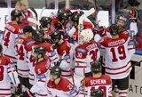 Sočio olimpiados finalininkų akistatoje – Kanados ledo ritulininkų pergalė po pratęsimo