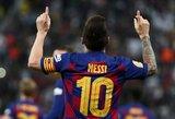 """L.Messi: """"Kiekvieną dieną vis rečiau galvoju apie tai, kaip pelnyti įvarčius"""""""