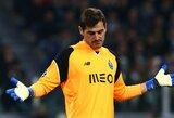 """""""Porto"""" paliekantis I.Casillasas – """"Liverpool"""" akiratyje"""