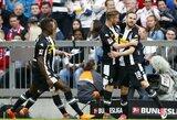 Vokietija: triuškinančią pergalę iškovojusi Monchengladbacho ekipa įsitvirtino antroje vietoje