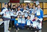 """Merginų komanda """"Hockey Girls"""" dalyvavo istoriniame turnyre """"Riga Lady Cup"""""""