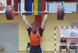 Pasaulio sunkiosios atletikos čempionate A.Šidiškis pranoko S.Lichovojų