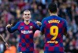 """Į pergalių kelią sugrįžusi """"Barcelona"""" pelnė keturis įvarčius"""