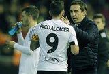 """""""Sevilla"""" – per žingsnį nuo Karaliaus taurės pusfinalio, """"Valencia"""" klubui teks paplušėti"""