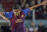 """Barcelona"" klubą paliko ir Thiago Alcantara brolis Rafinha (+ 5 perėjimai)"
