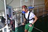 Lietuvos biatlonininkai pasiruošimą sezonui pratęsė Austrijos kalnuose