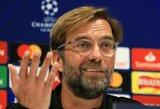 """Apie su """"Juventus"""" susijusius gandus prabilęs J.Kloppas: """"Tai yra nesąmonė"""""""