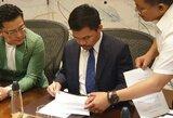 """Netikėta: M.Pacquiao pasirašė kontraktą su """"Rizin"""""""