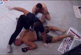Pamatykite: MMA turnyre Kaliningrade A.Liutika per 12 sekundžių nokautavo rusą