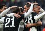 """Italijoje – C.Ronaldo dublis ir užtikrinta """"Juventus"""" pergalė"""