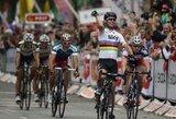 """Trečiajame """"Tour of Britain"""" dviračių lenktynių etape A.Kruopis finišavo 3-ias"""